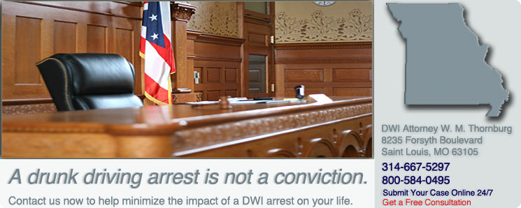 Drunk Driving Defense Attorney | Missouri | St. Louis, MO DWI Lawyer